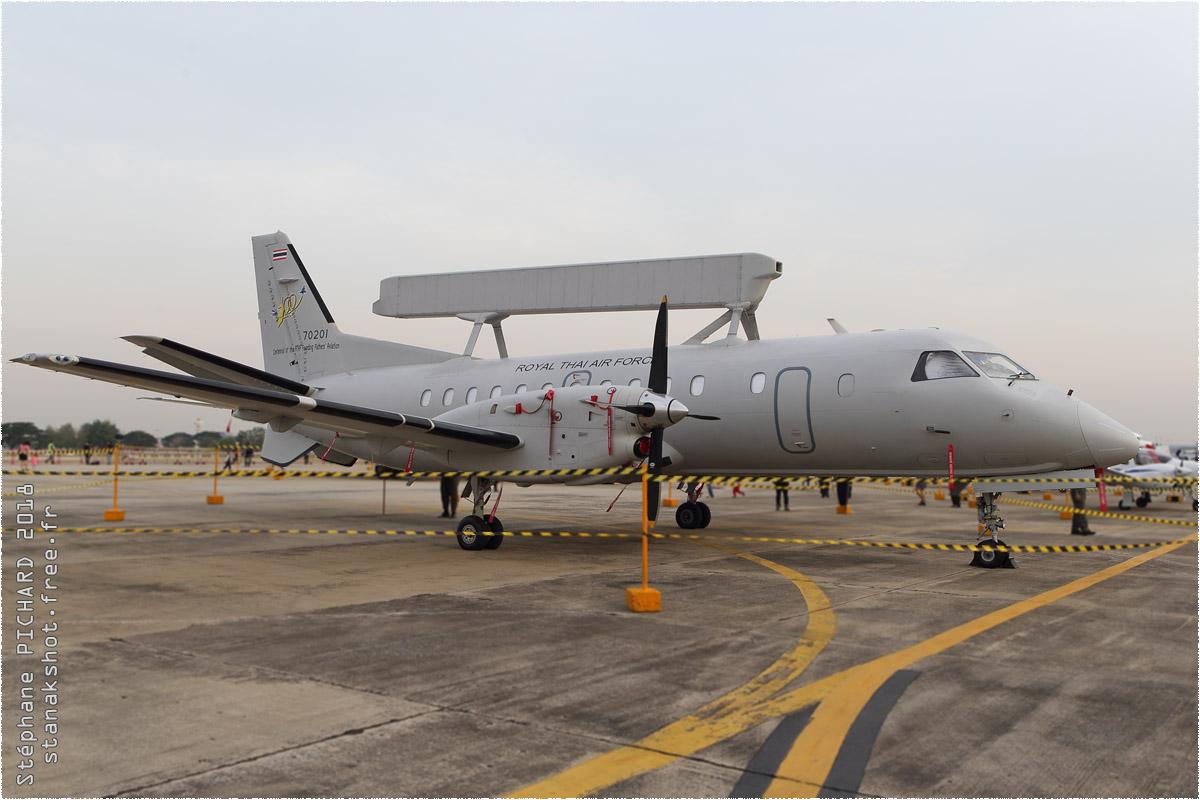 tof#10529_Saab 340_de la Force aérienne royale thaïlandaise