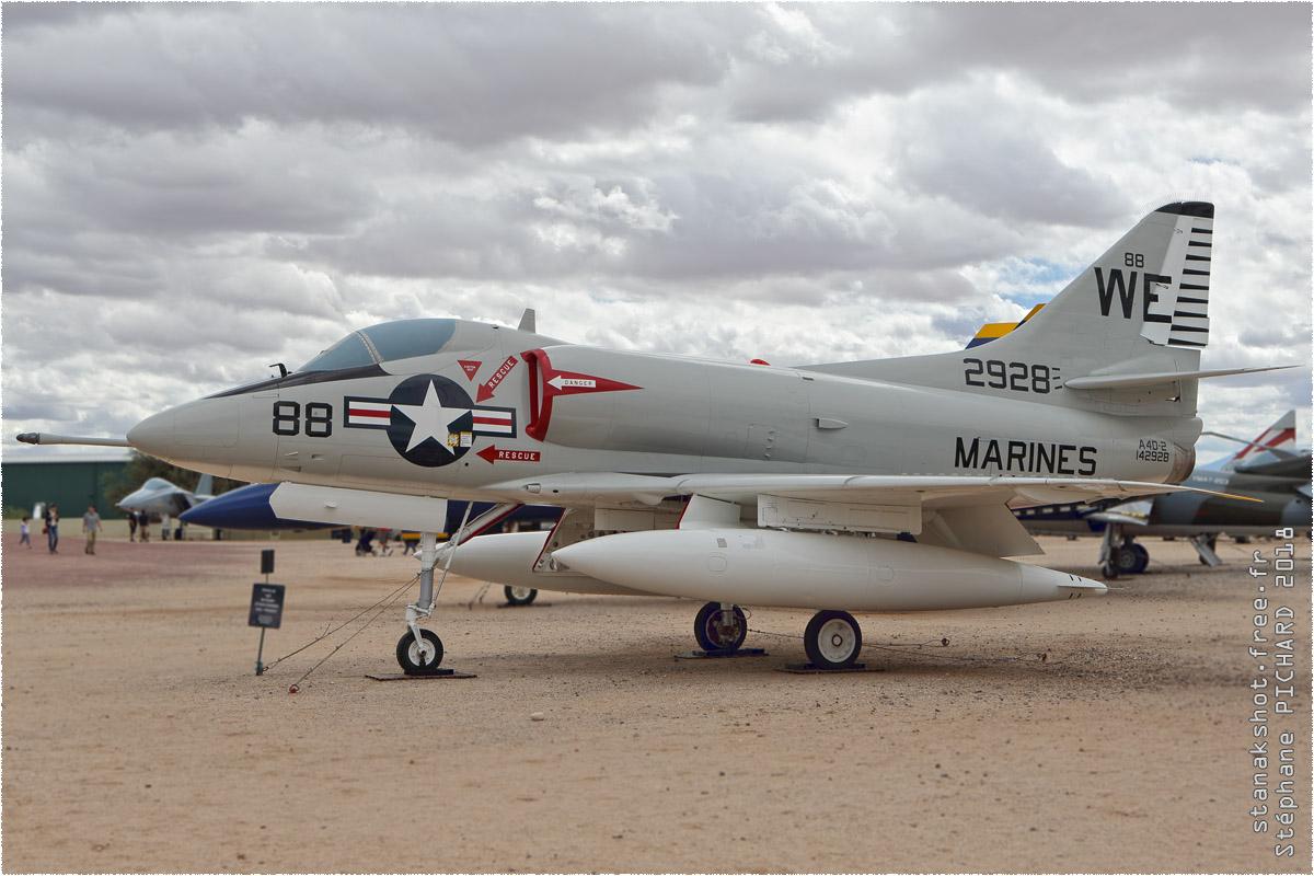 tof#10589 A-4 enregistré aux USA au statique à Pima Air & Space Museum, Tucson ()