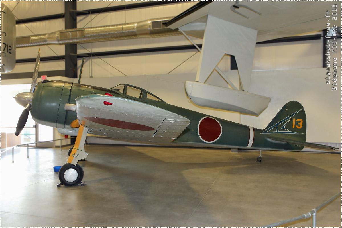 tof#10642 Ki-43 enregistré aux USA au statique à Davis-Monthan (AZ, USA) en 2018 Pima