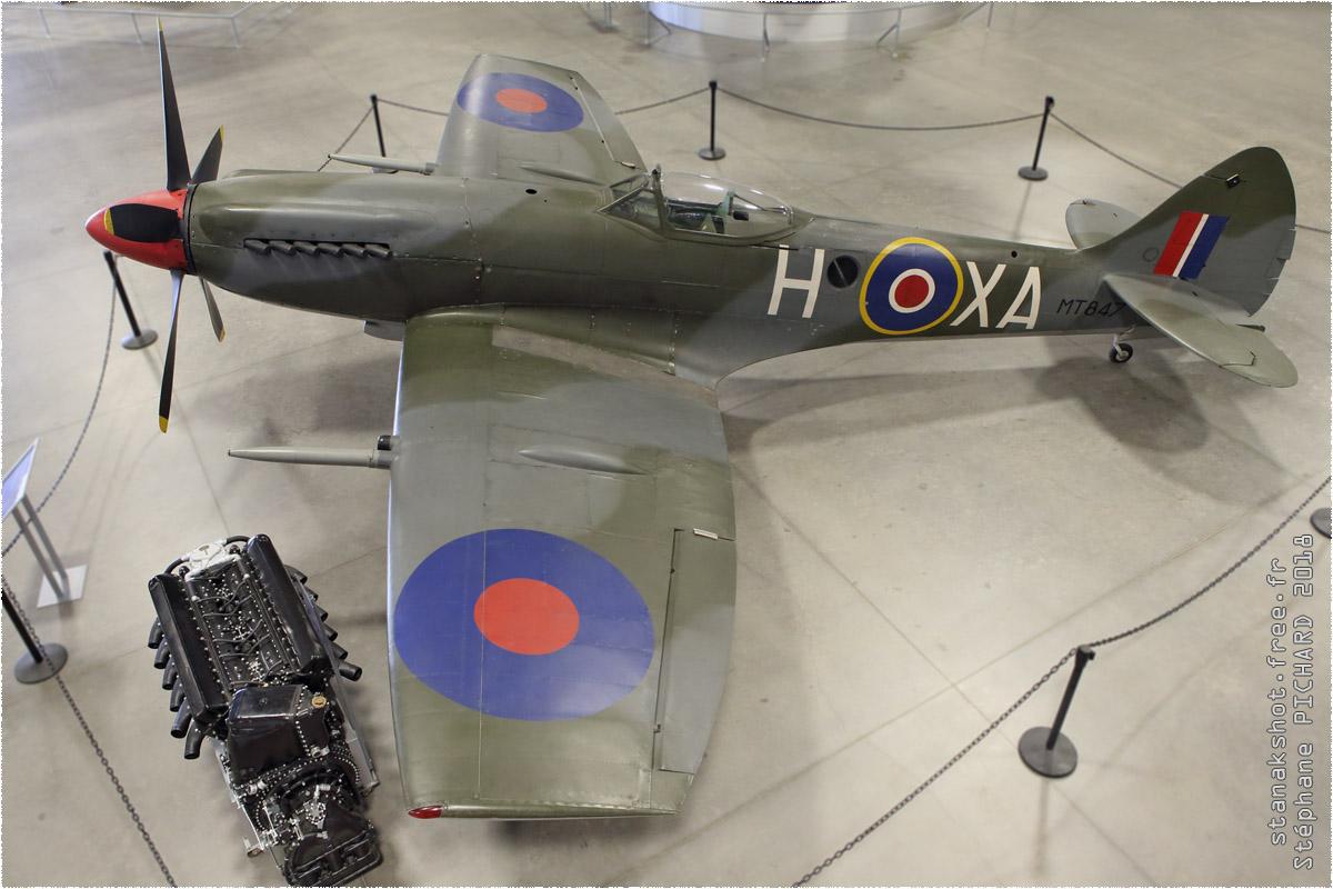 tof#10666 Spitfire enregistré aux USA au statique à Davis-Monthan (AZ, USA) en 2018 Pima