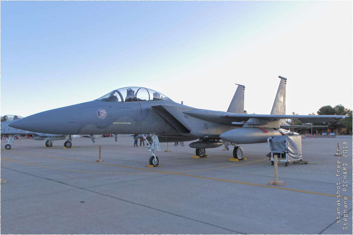 tof#10888 F-15 de l'US Air Force au statique à Luke (AZ, USA) en 2018