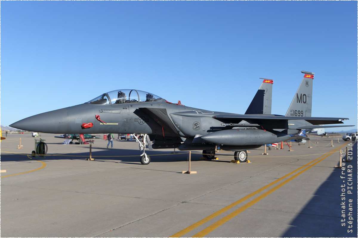 tof#10889 F-15 de l'US Air Force au statique à Luke (AZ, USA) en 2018