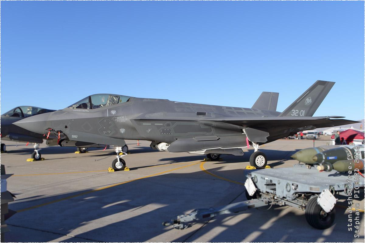 tof#10906 F-35 de la Force aérienne italienne au statique à Luke (AZ, USA) en 2018