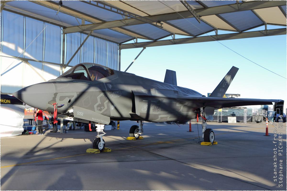 tof#10908 F-35 de l'US Air Force au statique à Luke (AZ, USA) en 2018