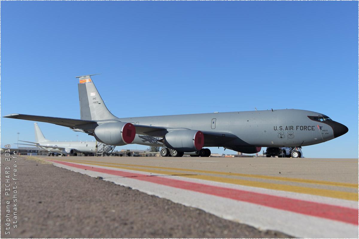 tof#10914 C-135 de l'US Air Force au statique à Luke (AZ, USA) en 2018