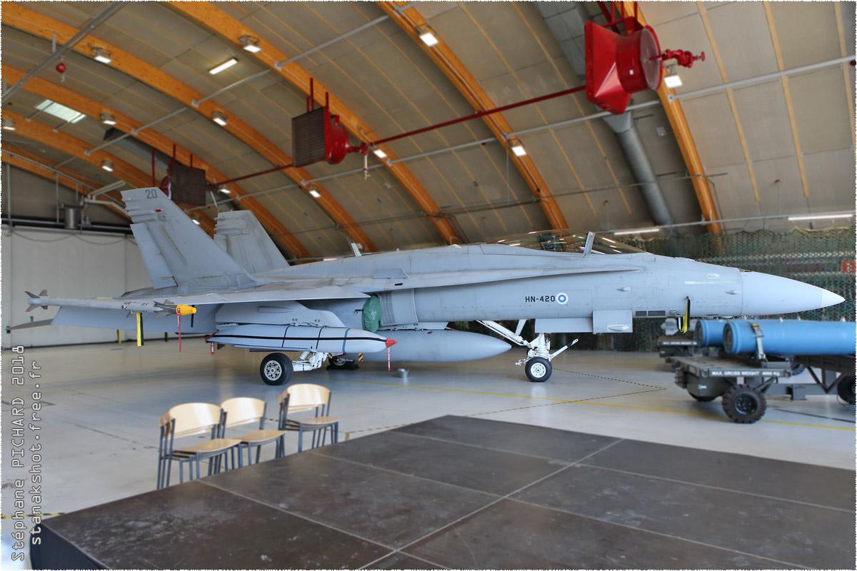 tof#10968 F-18 de la Force aérienne finlandaise au statique à Tampere (FIN) en 2018