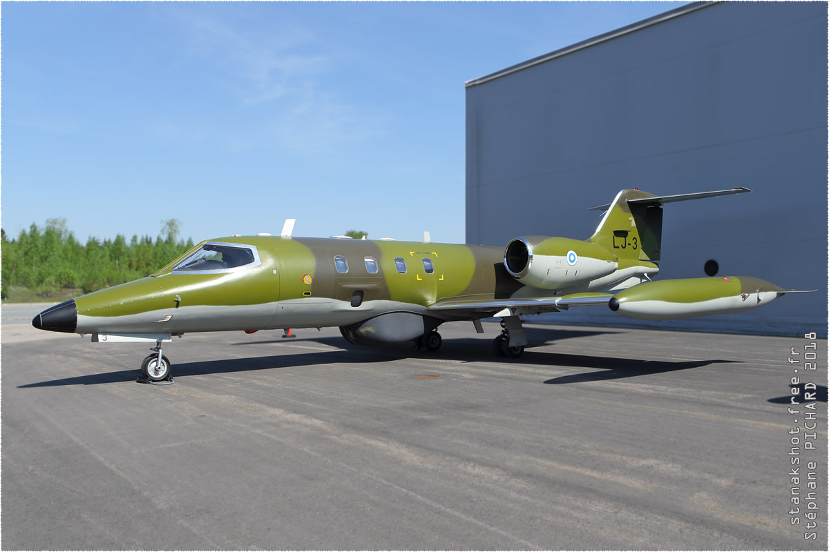 tof#10978_Learjet 30_de la Force aérienne finlandaise