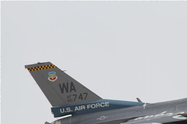 Photo#10747-1-General Dynamics F-16C Night Falcon