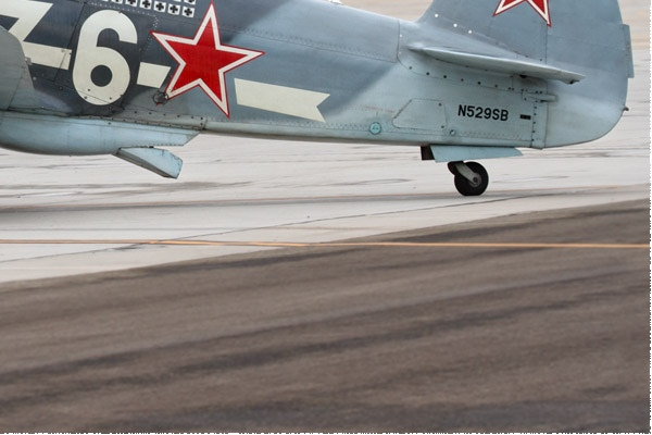 Diapo10586 Yakovlev Yak-3M 6 white/N529SB, El Centro (CA, USA) 2018