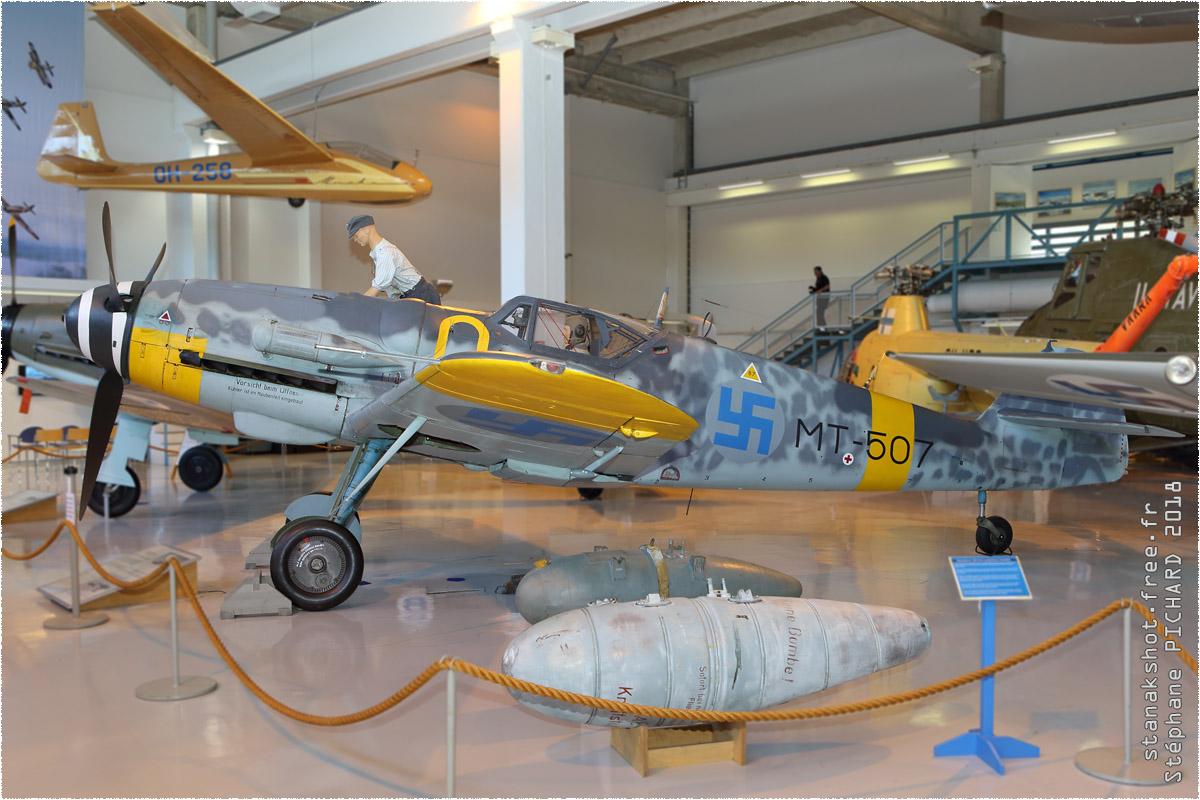 tof#11000_Bf 109_de la Force aérienne finlandaise
