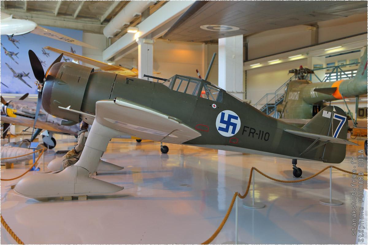 tof#11004_Fokker D.XXI_de la Force aérienne finlandaise