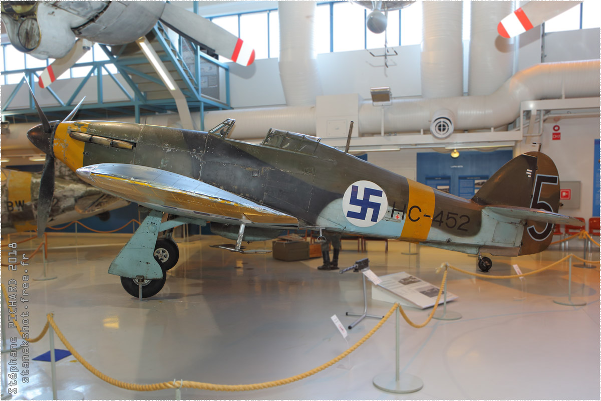 tof#11009_Hurricane_de la Force aérienne finlandaise