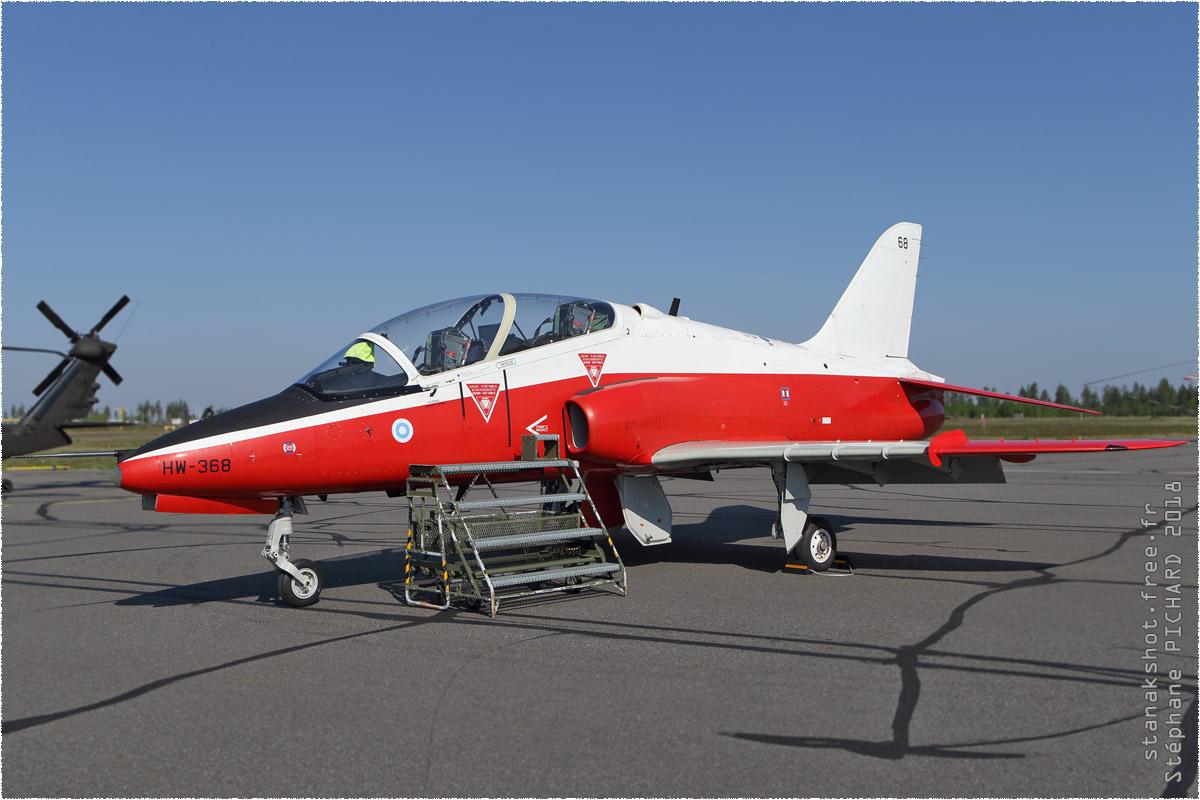 tof#11023 Hawk de la Force aérienne finlandaise au statique à Utti (FIN) en 2018