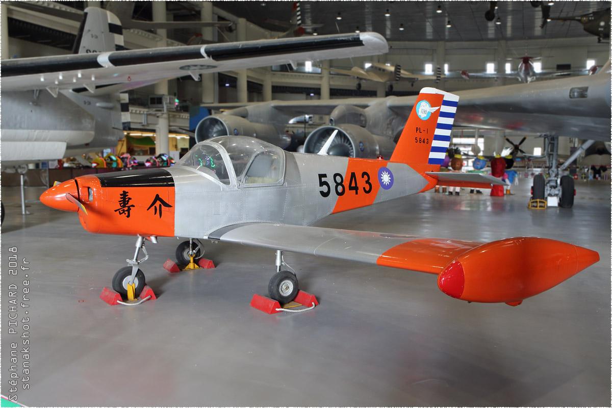 tof#11370 PL-1 de la Force aérienne de la République de Chine au statique à Gangshan (TWN) en 2018