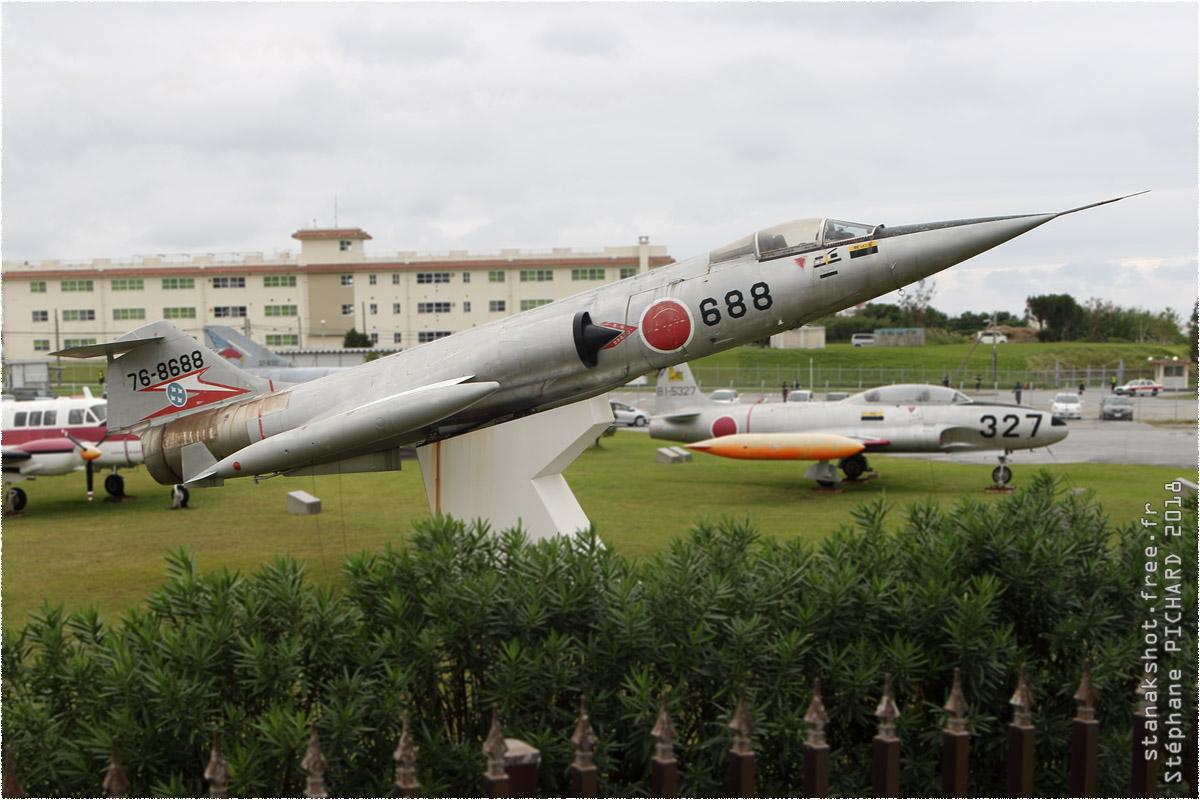 tof#11446 F-104 de la Force aérienne d'autodéfense japonaise au statique à Naha (JPN) en 2018