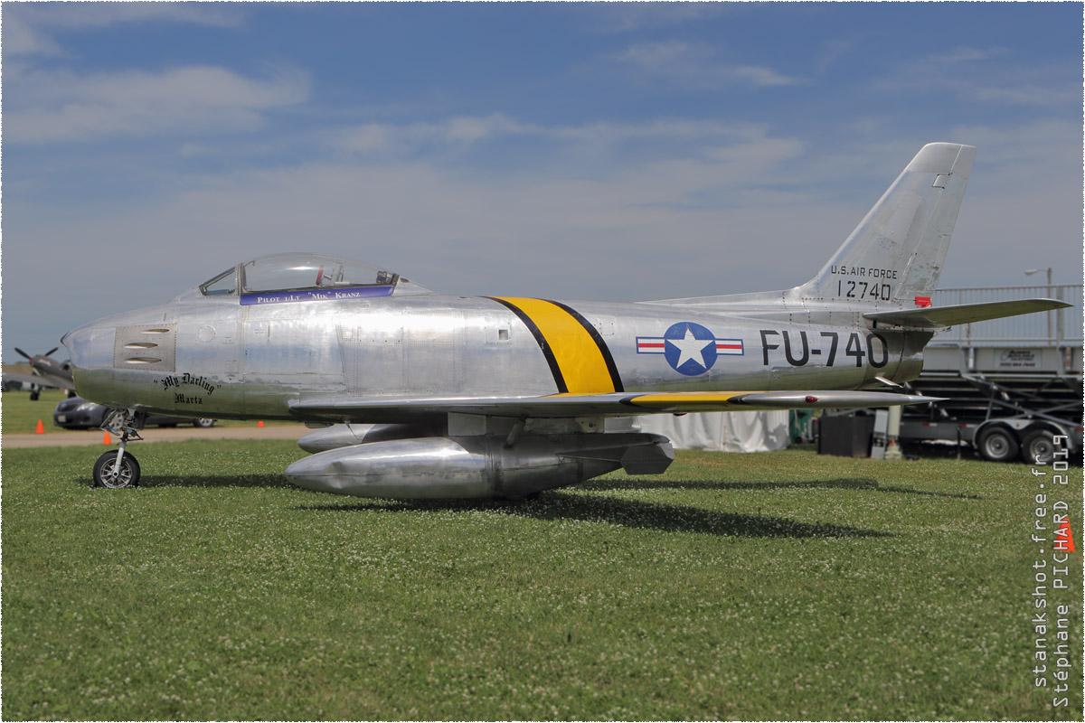tof#11595 F-86 enregistré aux USA au statique à Oshkosh (WI, USA) en 2019