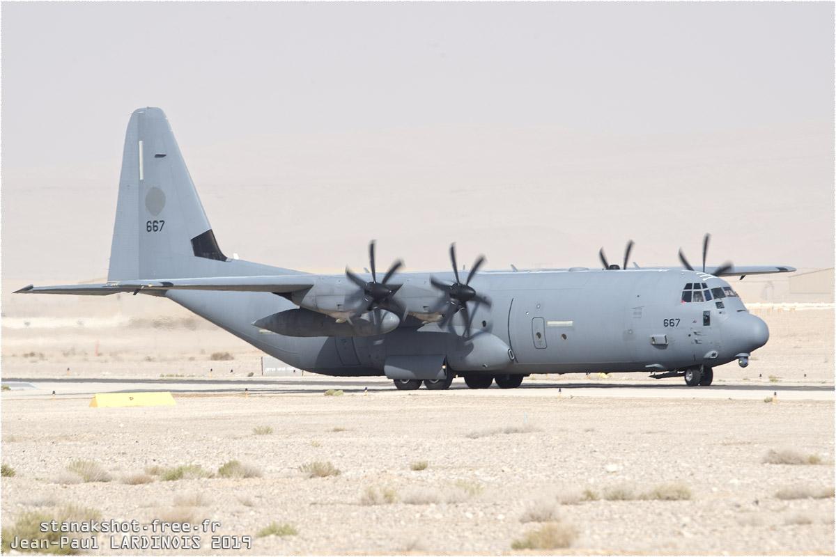 tof#11799 C-130 de la Force aérienne israélienne au roulage à Ovda (ISR) Blue Flag 2019