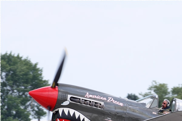 Diapo11628 Curtiss P-40N Warhawk 55/N977WH, Oshkosh (WI, USA) 2019