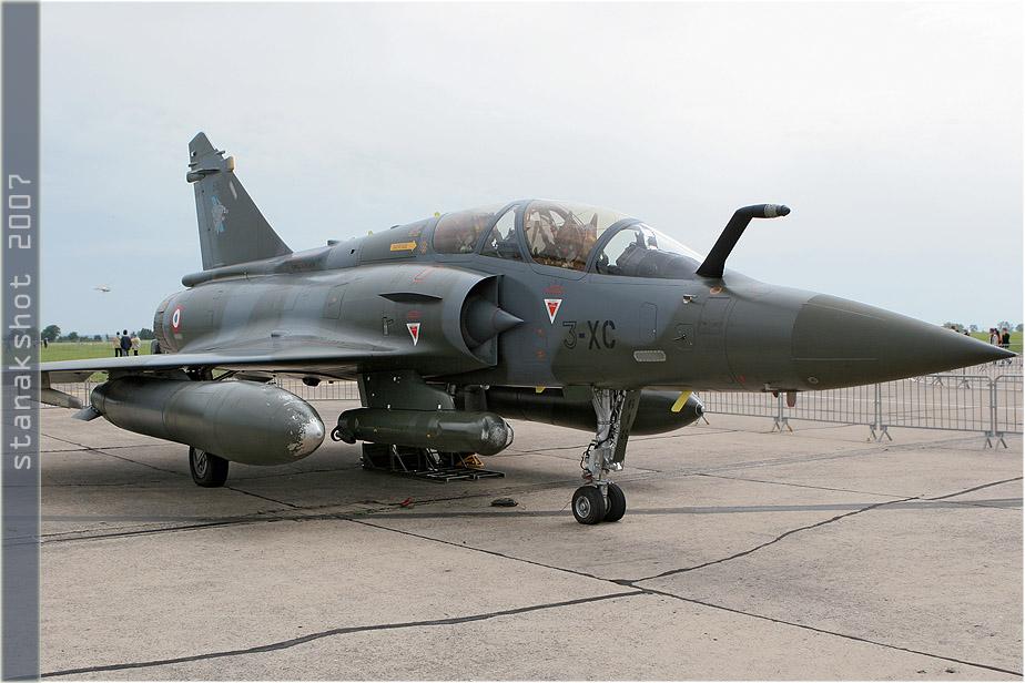 tof#2312 Mirage 2000 de l'Armée de l'Air française au statique à Metz (France) en 2007