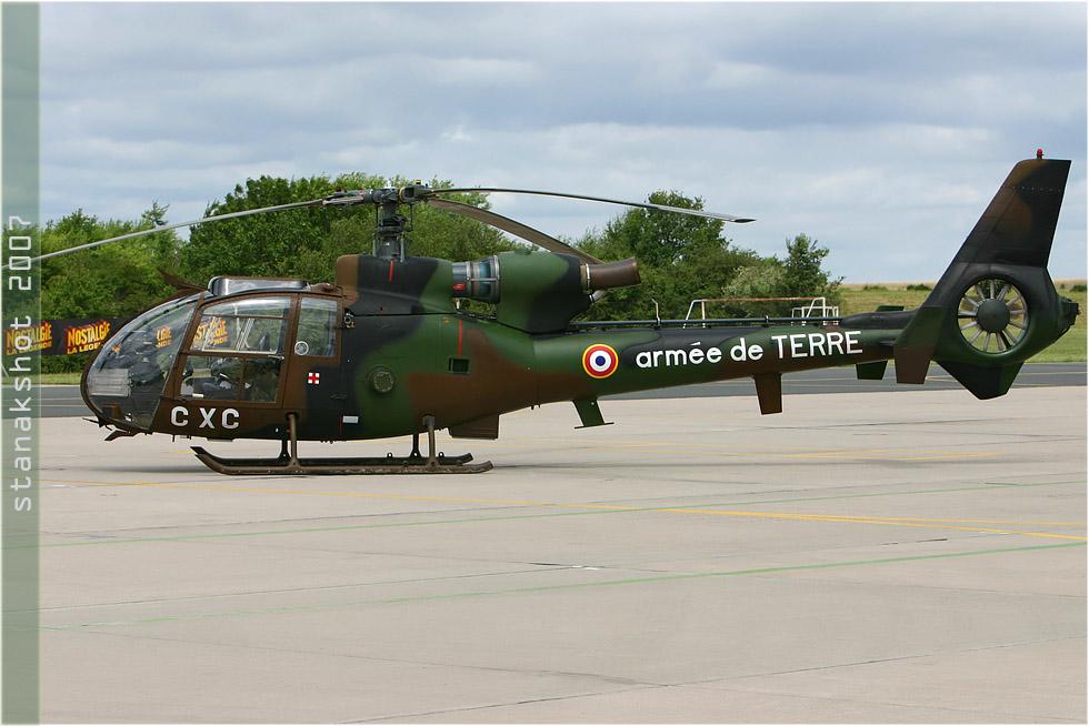 tof#2571 Gazelle de l'Aviation légère de l'Armée de terre française au statique à Nancy (FRA) lors du MNA 2007