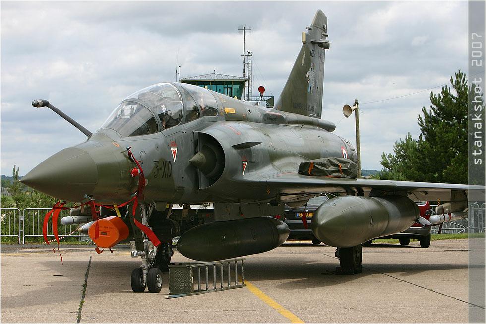 tof#2585 Mirage 2000 de l'Armée de l'Air française au statique à Nancy (France) lors du Meeting National de l'Air 2007
