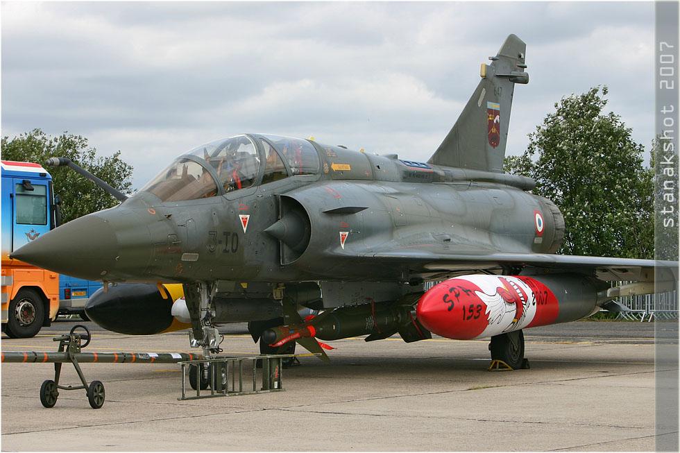 tof#2598 Mirage 2000 de l'Armée de l'Air française au statique à Nancy (France) lors du Meeting National de l'Air 2007