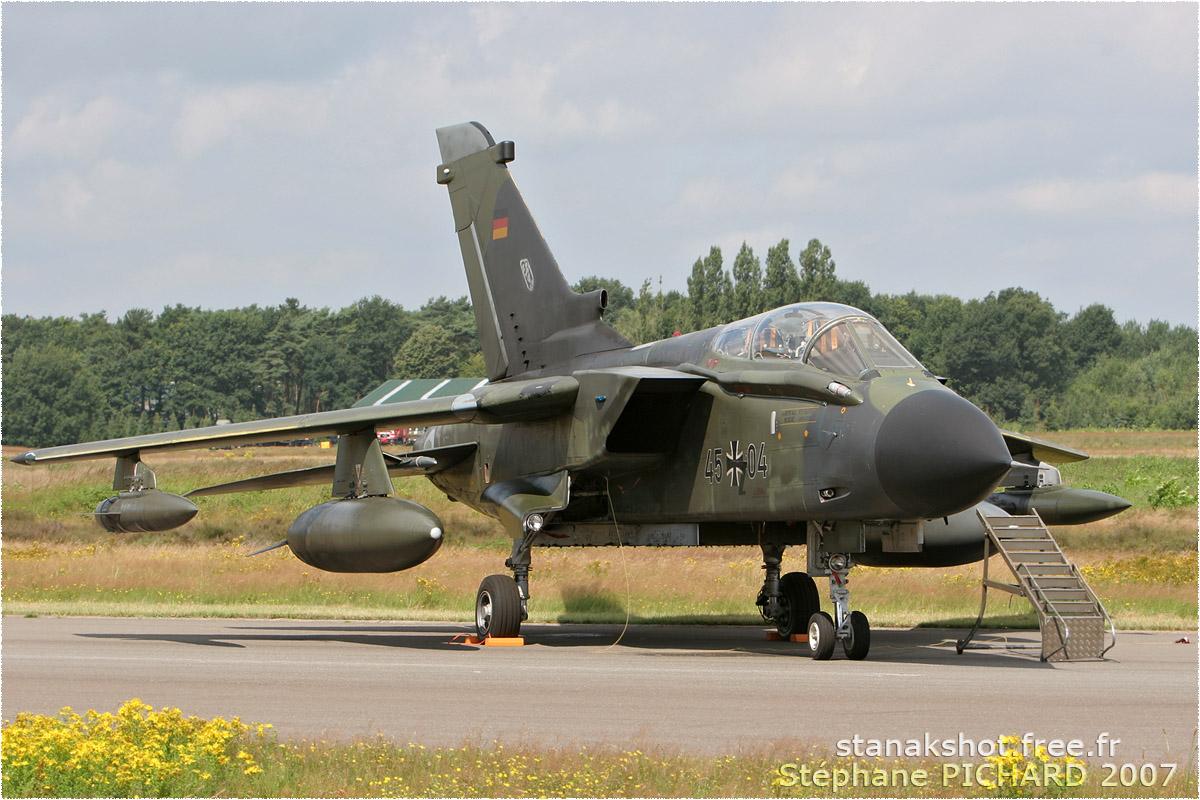 tof#2903 Tornado de la Luftwaffe au statique à Kleine-Brogel (BEL) en 2007