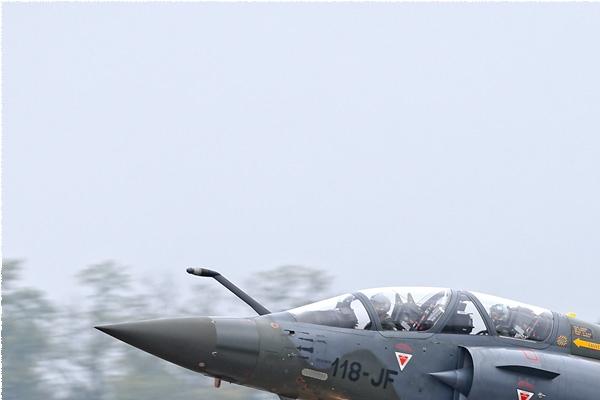 Diapo2612 Dassault Mirage 2000D 660/118-JF, Mont-de-Marsan 2 (FRA) 2014