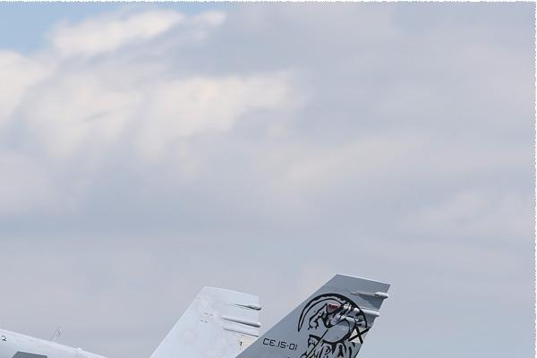 Photo#2286-2-McDonnell Douglas EF-18B Hornet