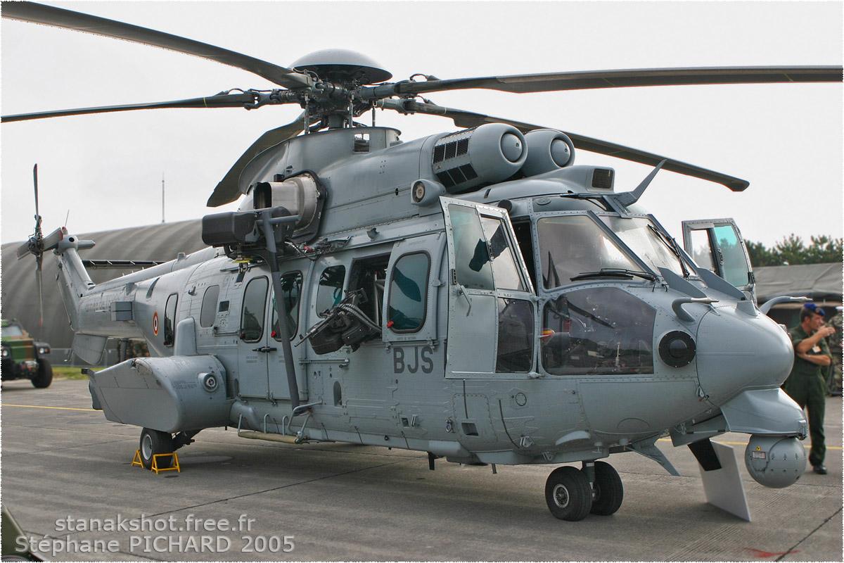 tof#3038 Super Puma de l'Aviation légère de l'Armée de terre française au statique à Reims (France) lors du PCAT 2007