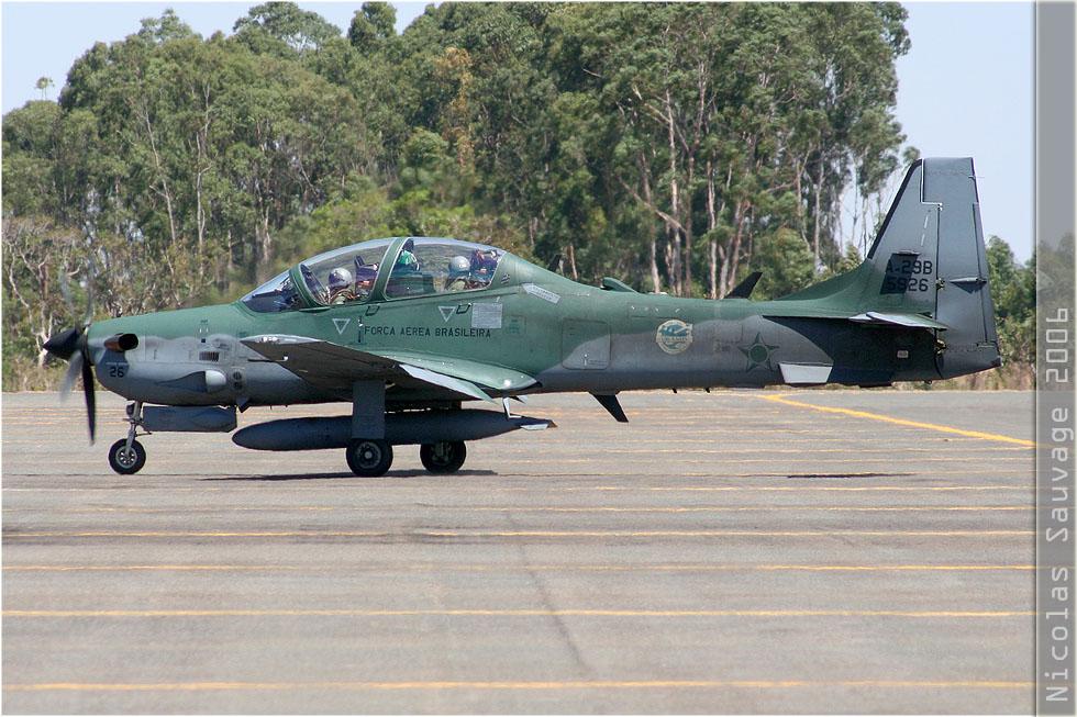 tof#3143_Super Tucano_de la Force aérienne brésilienne