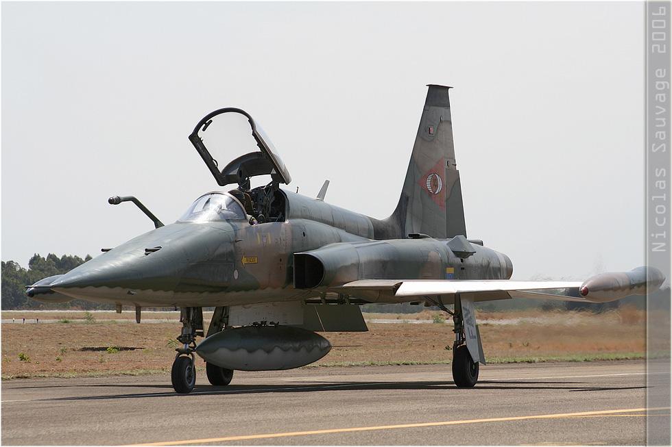 tof#3155 F-5 de l'Aviation militaire bolivarienne au roulage à Anapolis (Brésil - air force) en 2006