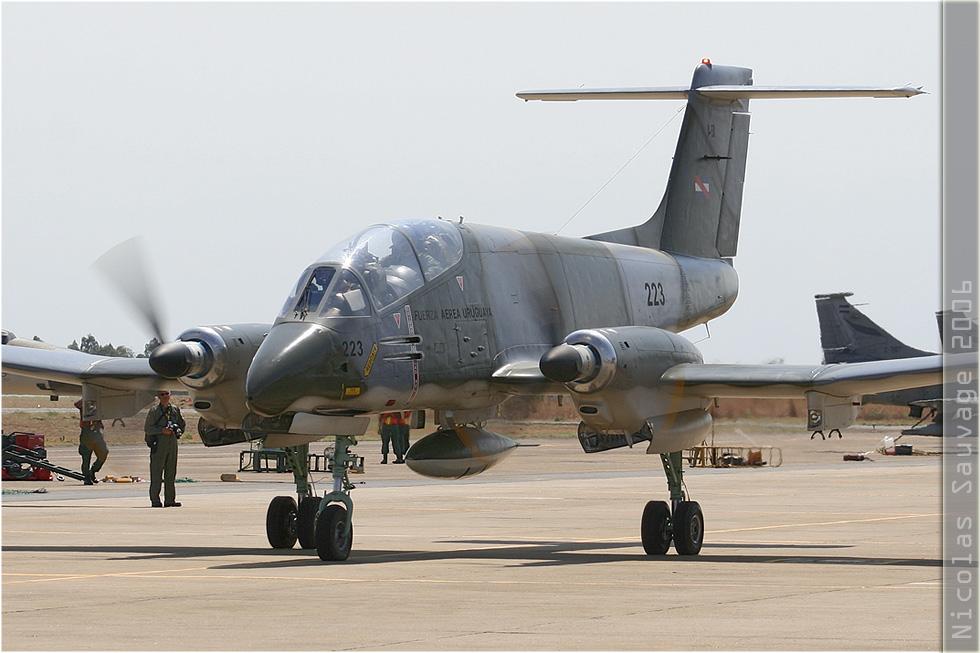 tof#3164_Pucara_de la Force aérienne uruguyenne