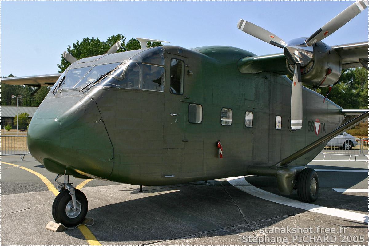tof#3246 Skyvan de la Force aérienne autrichienne au statique à Cazaux (France) lors du Meeting National de l'Air 2005