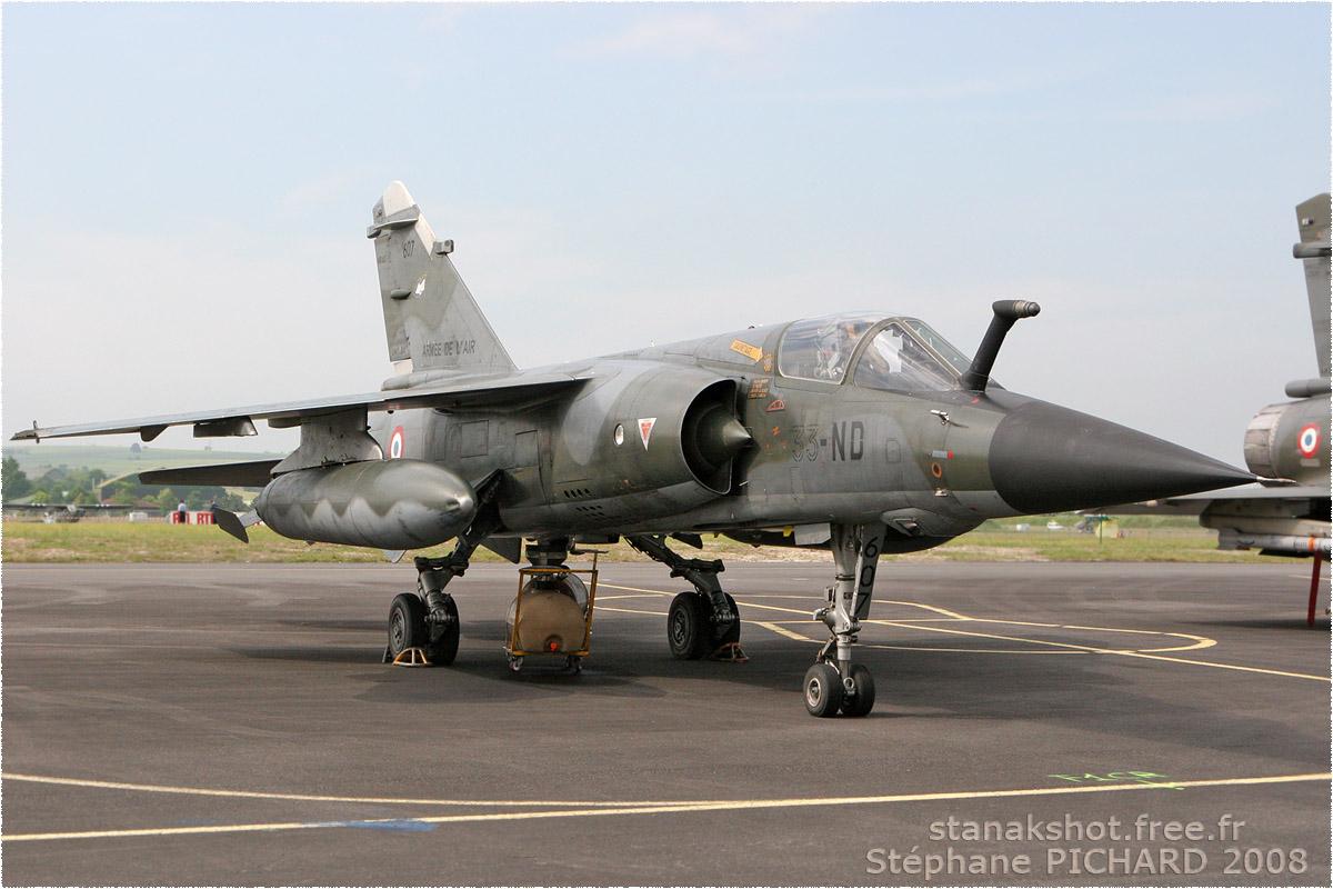 tof#3493 Mirage F1 de l'Armée de l'Air française au statique à Cognac (France) lors du Meeting National de l'Air 2008