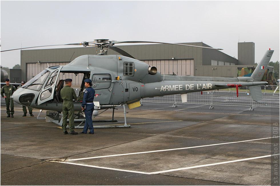 tof#3913 Ecureuil de l'Armée de l'Air française au statique à Reims (France) lors du PCTAM 2008