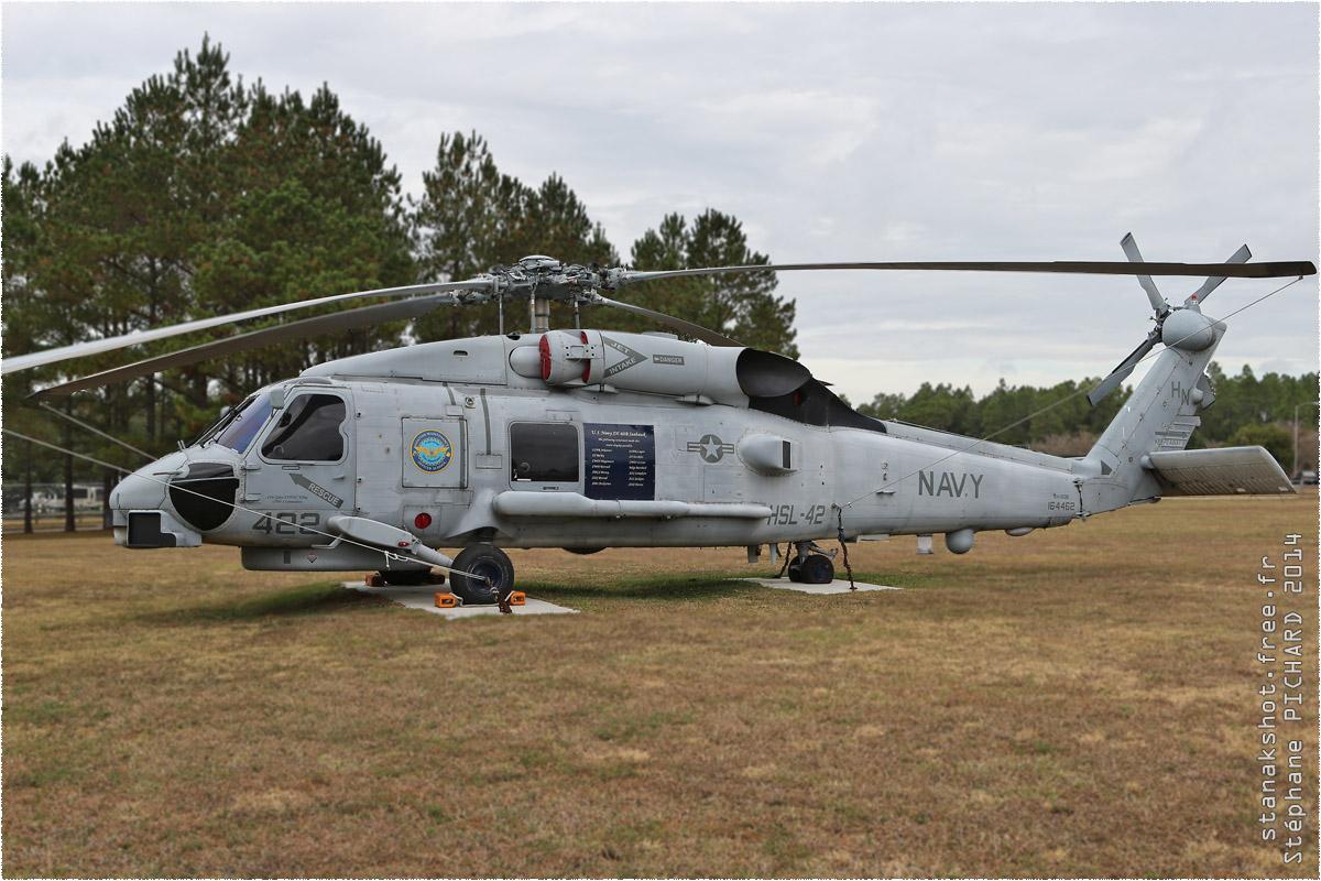 tof#3960 H-60 de la Marine américaine au statique à NAS Whiting Field ()