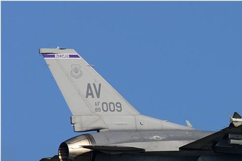 Photo#3964-1-General Dynamics F-16C Night Falcon