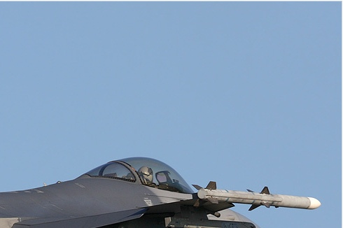 Diapo3185 General Dynamics F-16C Night Falcon 89-2030/AV, Florennes (BEL) TLP 2007-6