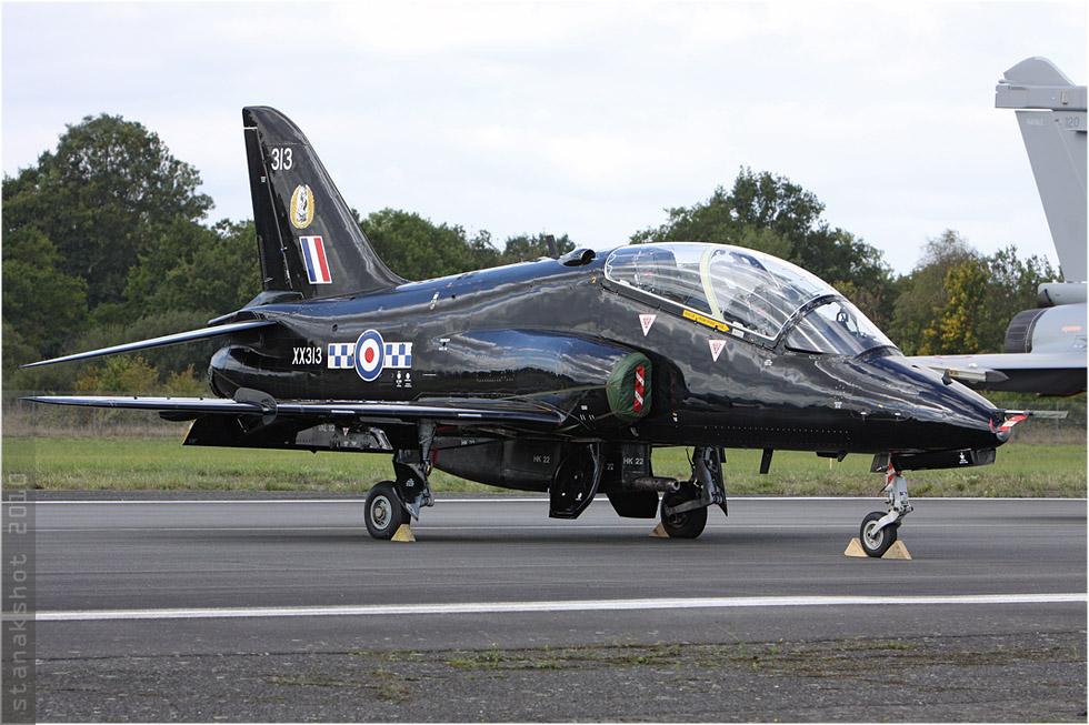 tof#5376 Hawk de la Force aérienne royale britannique au statique à Rennes (France) en 2010