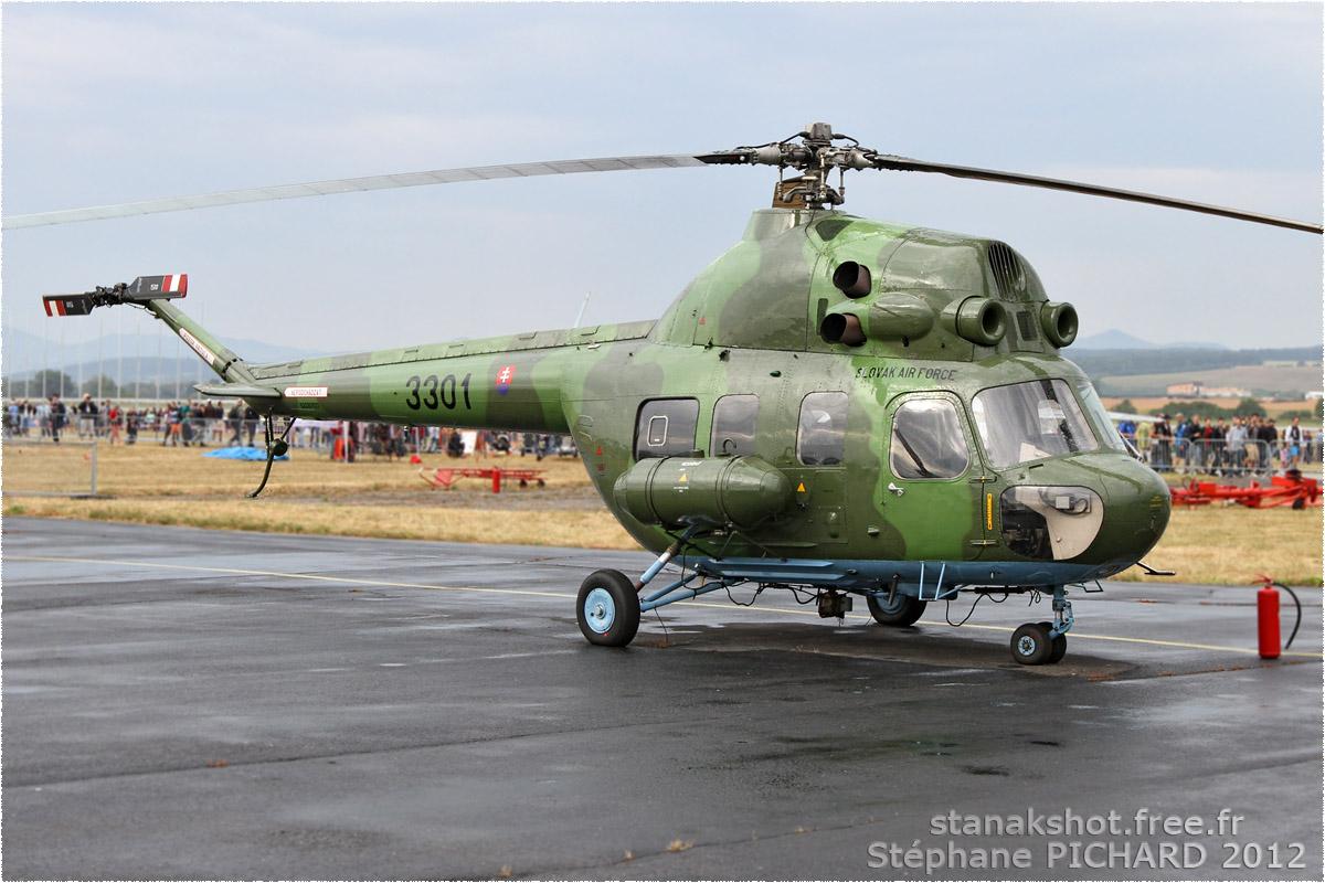 tof#6278 Mi-2 de la Force aérienne slovaque au statique à Sliač (SVK) en 2012