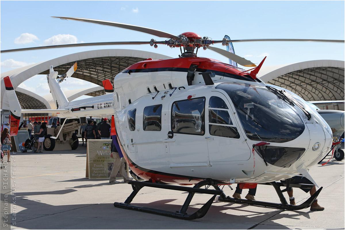 tof#6345 EC145 de l'Armée de terre américaine au statique à Yuma (AZ, USA) en 2013