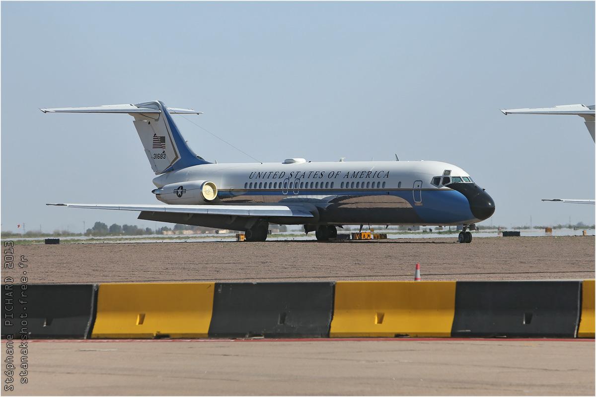 tof#6720 DC-9 enregistré aux USA au statique à Mesa (AZ, USA) en 2013