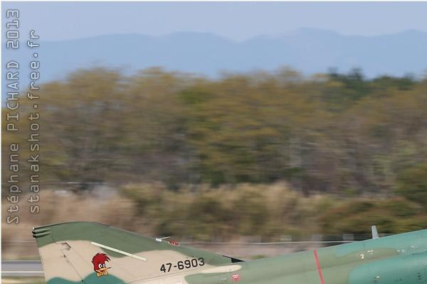 Diapo6753 McDonnell Douglas RF-4E Kai Phantom II 47-6903, Hyakuri (JPN) 2013