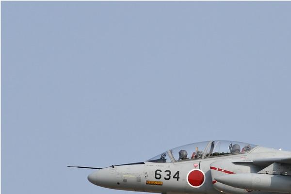 Diapo6761 Kawasaki T-4 06-5634, Hyakuri (JPN) 2013