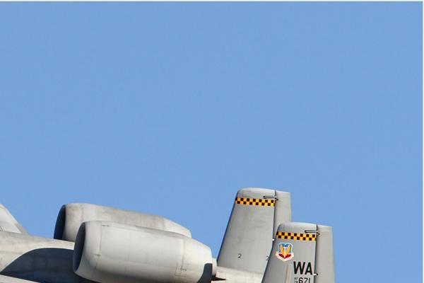 Diapo6384 Fairchild A-10C Thunderbolt II 78-0671/WA, Nellis (NV, USA) Red Flag 2013-3
