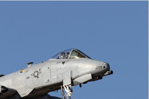 Photo#6606-2-Fairchild A-10C Thunderbolt II