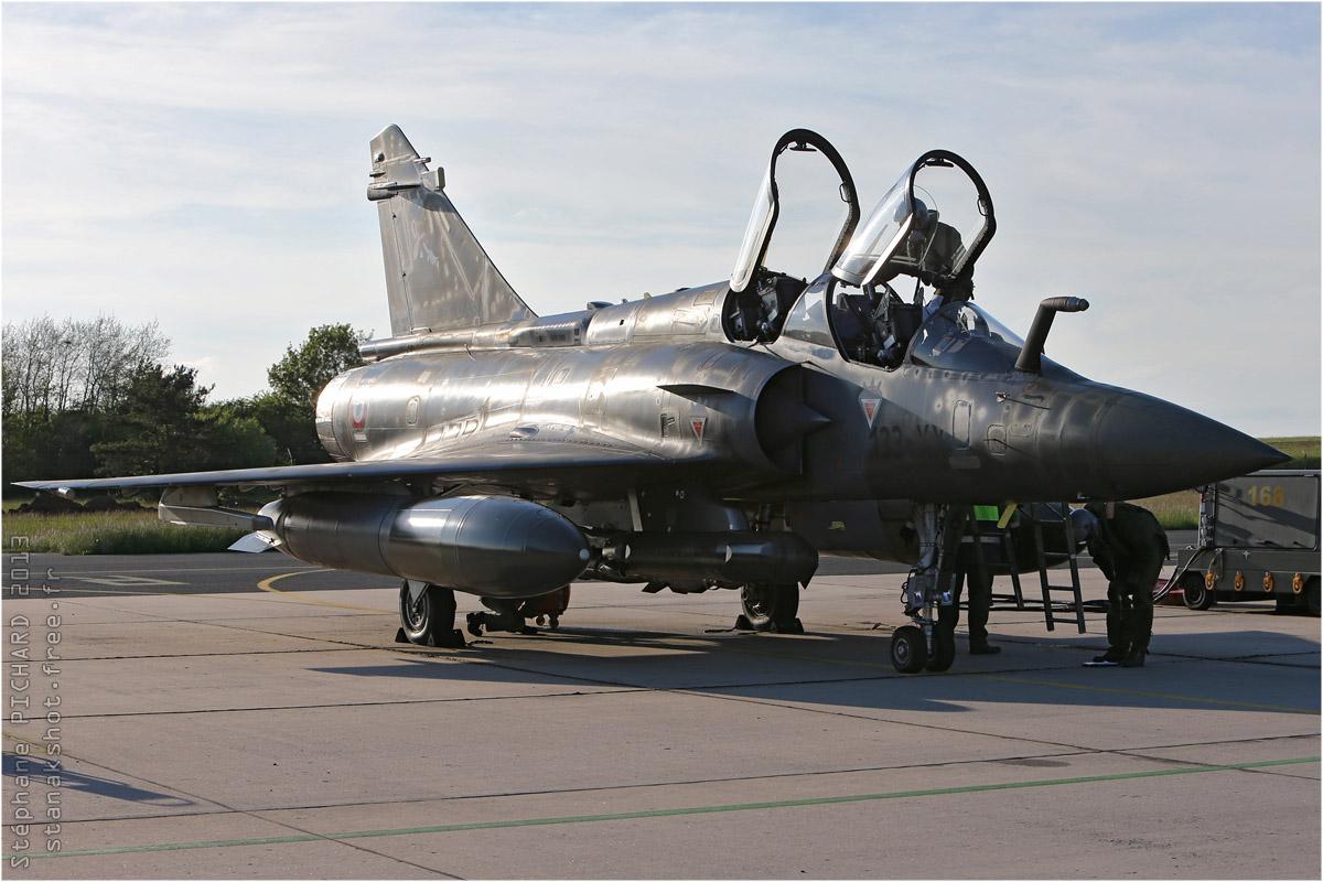 tof#7021 Mirage 2000 de l'Armée de l'Air française au statique à Nancy (FRA) en 2013