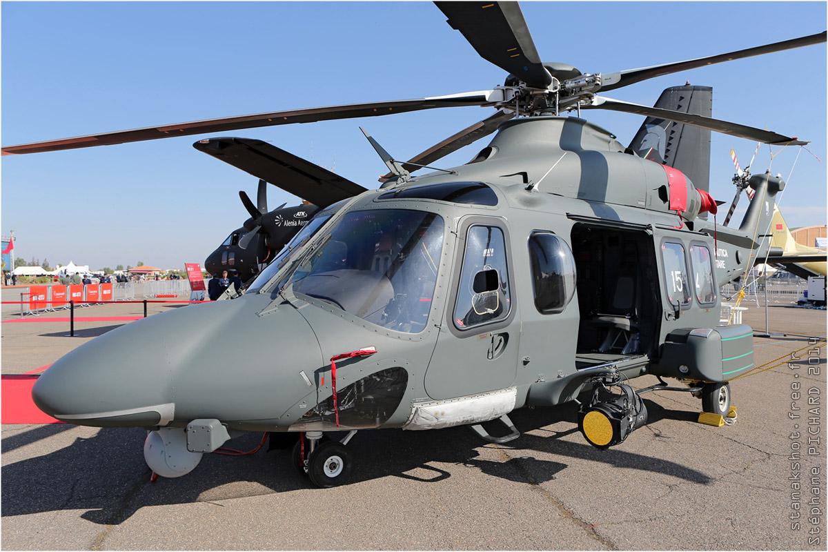 tof#7502 AW139 de la Force aérienne italienne au statique à Marrakech (Maroc) en 2014