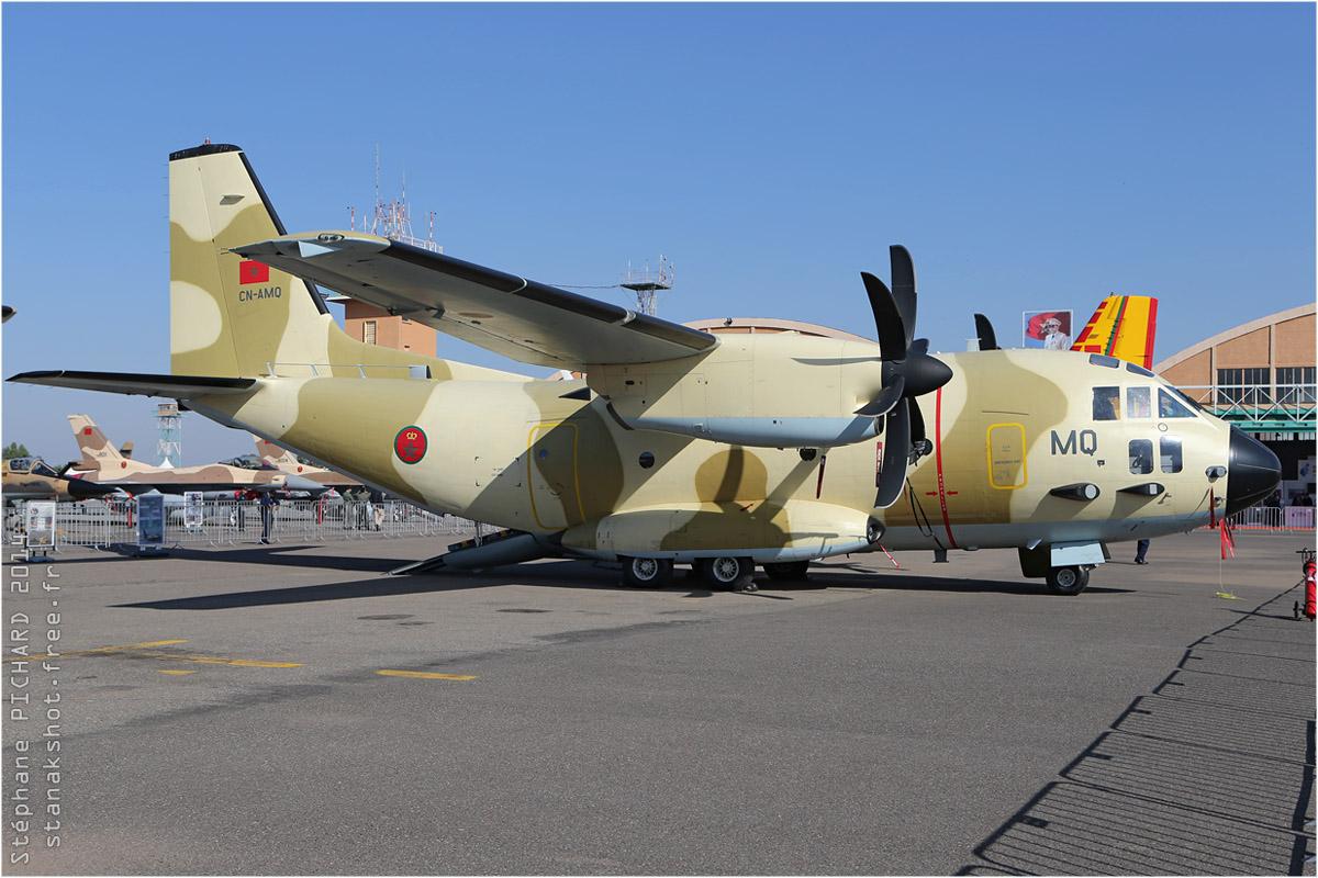 tof#7506 Spartan des Forces royales air du  Maroc au statique à Marrakech (Maroc) en 2014